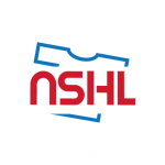 NSHL Logo with White text