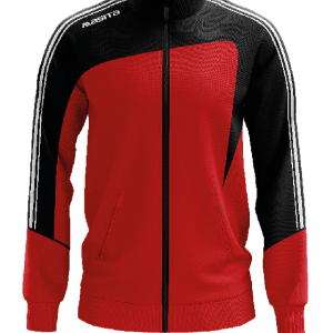 Masita Forza Collection Trainingjacke Gents Schwarz Rot