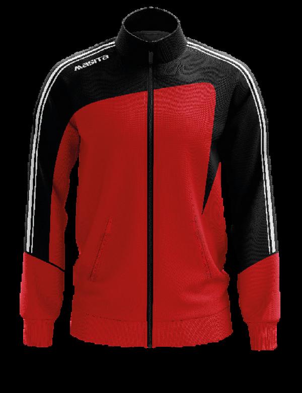 Masita Forza Collection Trainingjacke Gents Schwarz Rot