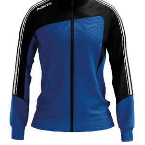 Masita Forza Collection Trainingjacke Ladies Schwarz Royal Blau