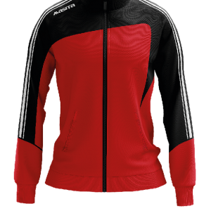 Masita Forza Collection Trainingjacke Ladies Schwarz Rot