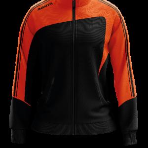 Forza_trainingjacke Ladies_Schwarz-Orange