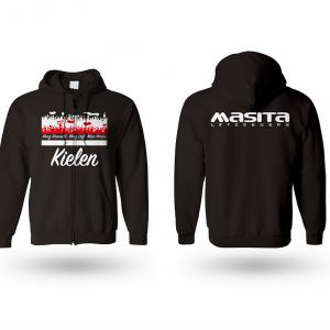 Masita FC Kielen Schwarz Kapuzen Sweater